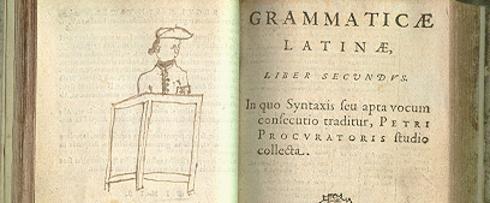 Pierre Procureur, la grammaire latine